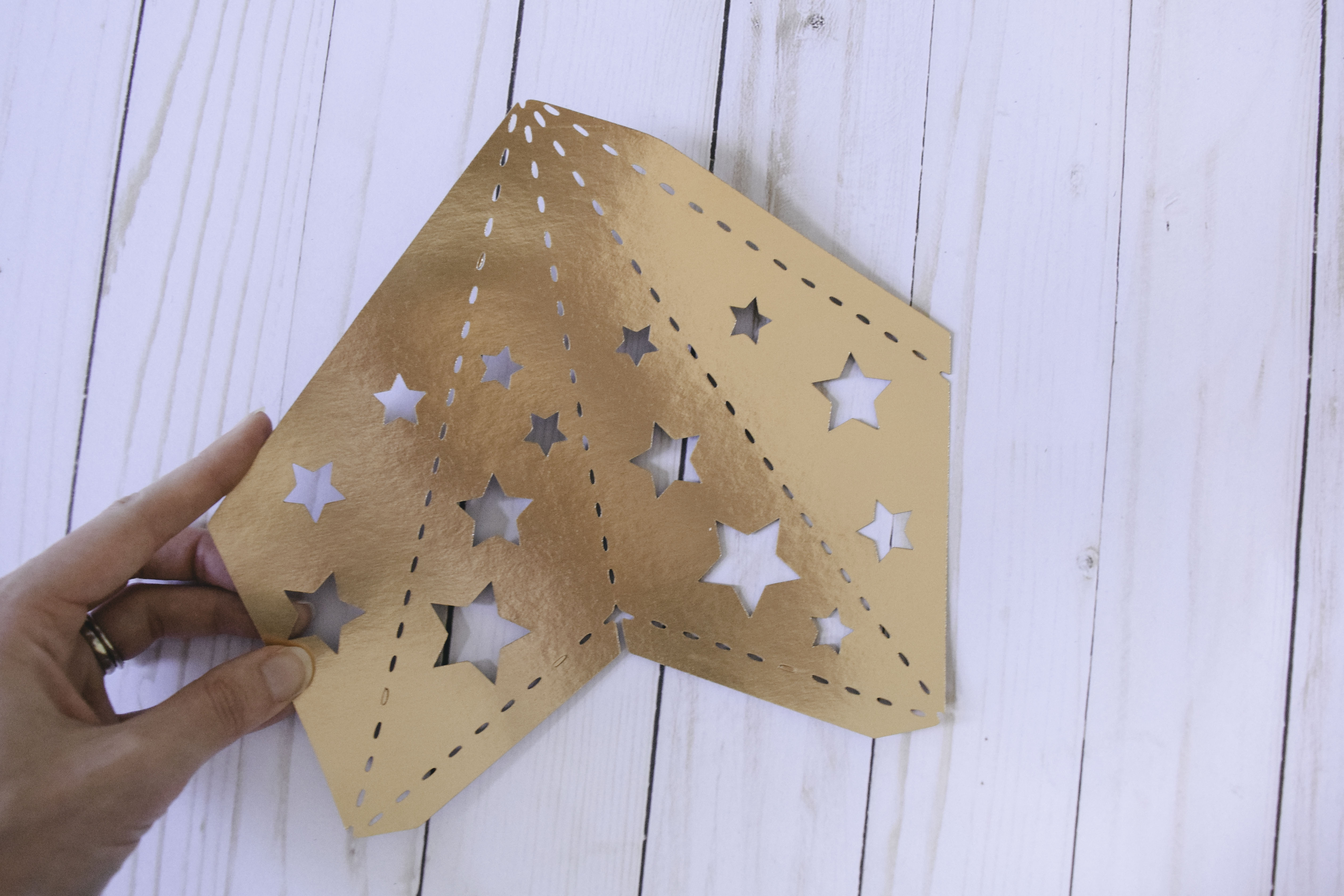 3d Paper Star Lumi 232 Res Free Template Abbi Kirsten