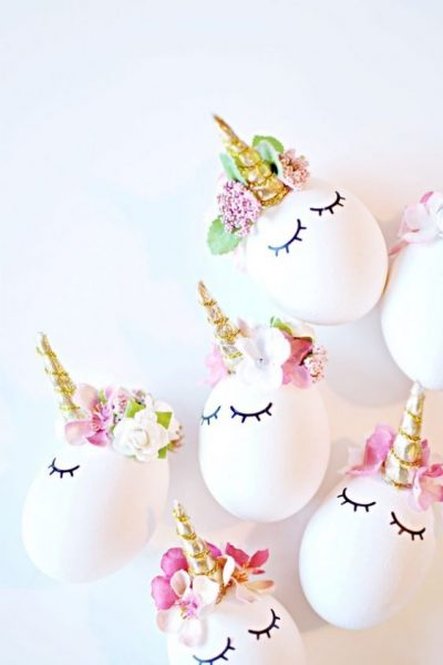 The Best 15 Spring Easter Decorations for 2018 - Unicorn Easter Eggs