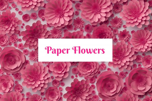 Paper Flower Collection